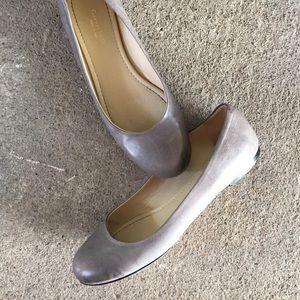 Garnet Hill | Grey Ballet Flats